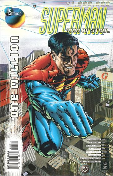 Superman: The Man of Steel 1,000,000-A by DC