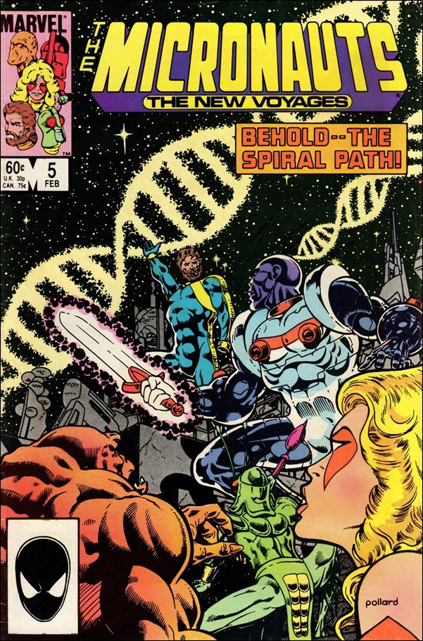 Micronauts (1984) 5-A by Marvel