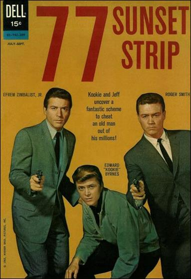 77 Sunset Strip (1962/07) 1-A by Dell