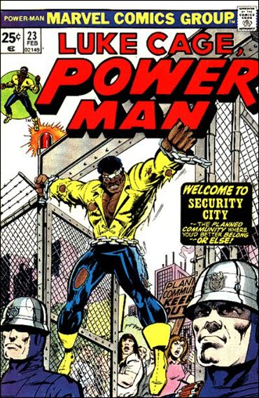 Power Man 23-A by Marvel