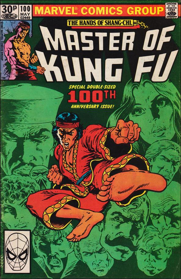 Master of Kung Fu 100-B by Marvel