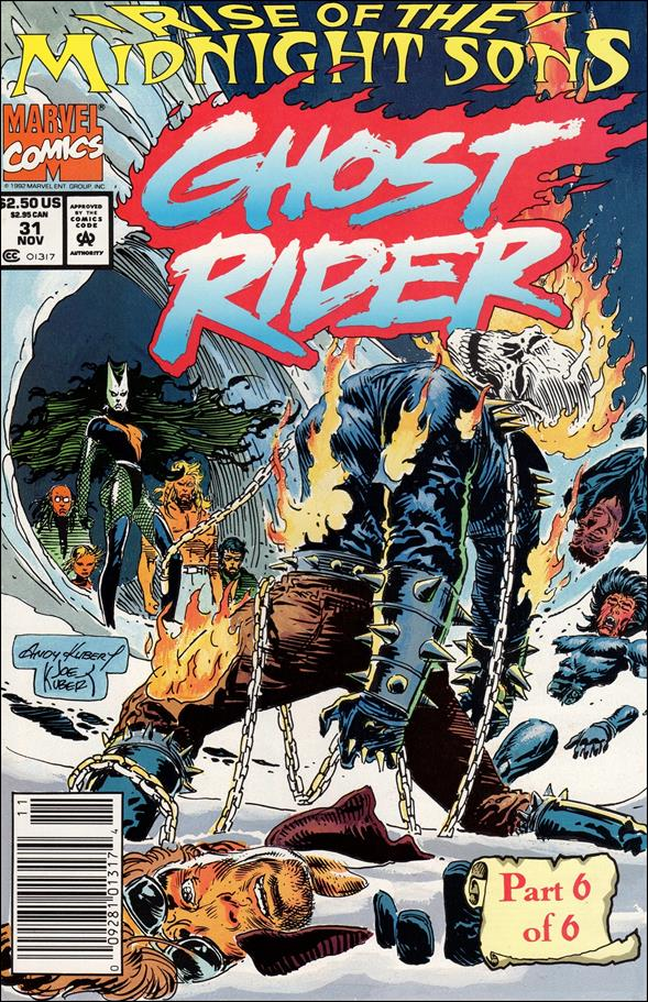Ghost Rider (1990) 31-A by Marvel