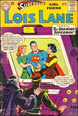 Superman's Girl Friend Lois Lane 49-A by DC