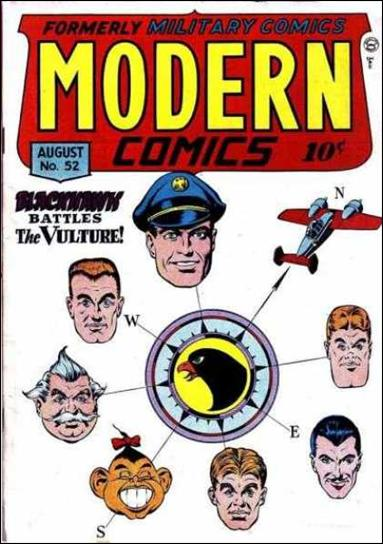 Modern Comics 52-A by Quality