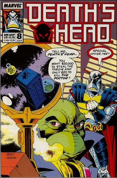 Death's Head (UK) 8-A by Marvel UK