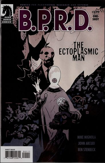 B.P.R.D.: The Ectoplasmic Man 1-A by Dark Horse