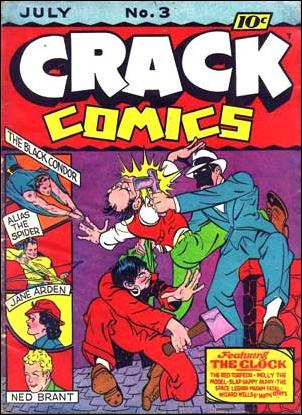 Crack Comics 3-A by Quality