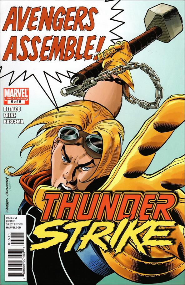 Thunderstrike (2011) 5-A by Marvel