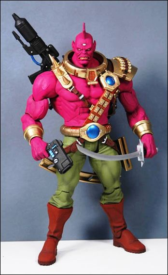 DC Universe Classics (Wave 04) Despero (5 Piece Build-A-Figure) by Mattel