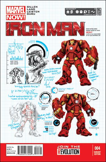 Iron Man (2013) 4-B by Marvel