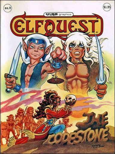 ElfQuest (1978) 9-A by Warp Graphics