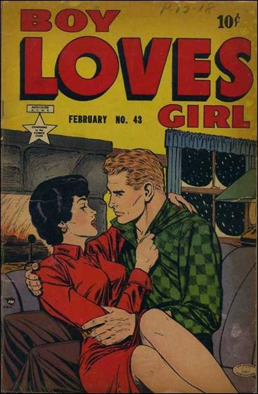 Boy Loves Girl 43-A by Lev Gleason Productions