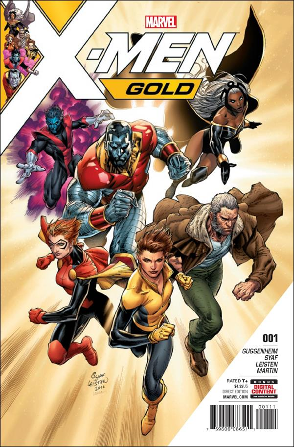 X-Men: Gold 1-A by Marvel