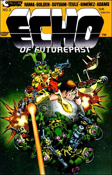 Echo of Futurepast 3-A by Continuity Comics