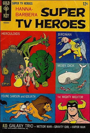 Hanna-Barbera: Super TV Heroes 1-A by Gold Key