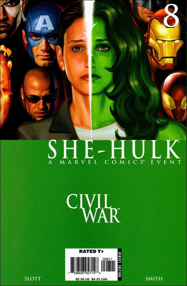She-Hulk (2005) 8-A by Marvel
