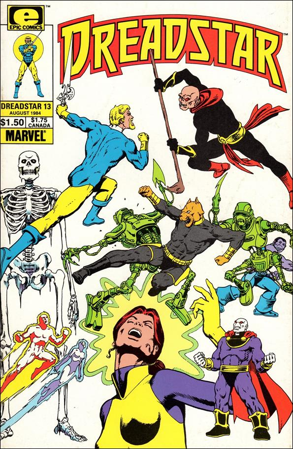 Dreadstar (1982) 13-A by Epic