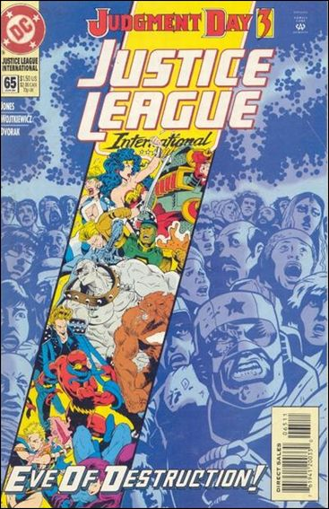 Justice League International (1993)  65-A by DC