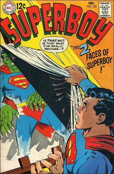 Superboy (1949) 152-A by DC