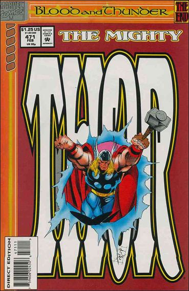 Thor (1966) 471-A by Marvel