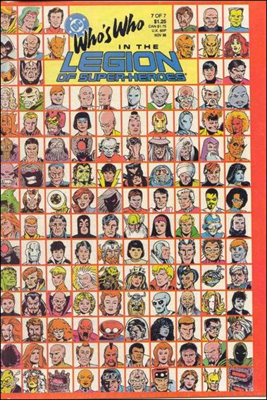 Who's Who in the Legion of Super-Heroes 7-A by DC