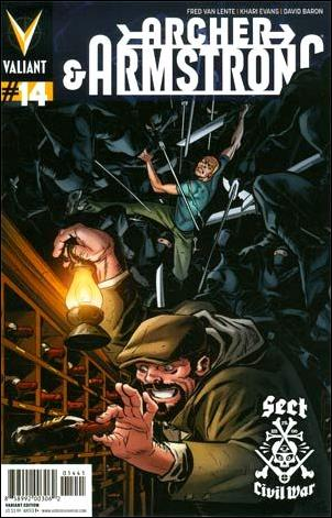 Archer & Armstrong (2012) 14-D by Valiant Entertainment