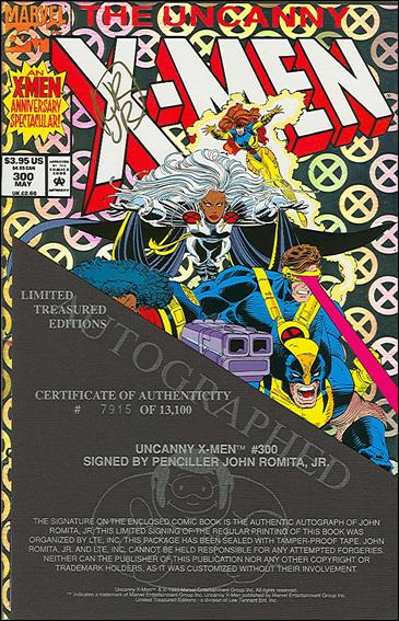 Uncanny X-Men (1981) 300-B by Marvel