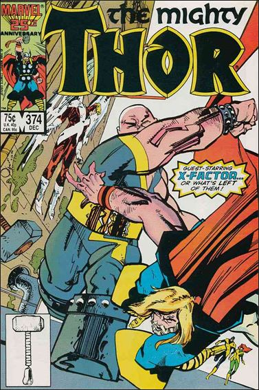 Thor (1966) 374-A by Marvel