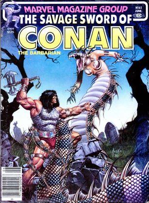 Savage Sword of Conan (1974) 65-A