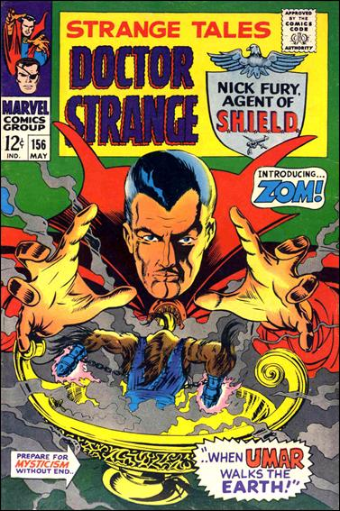 Strange Tales (1951) 156-A by Marvel