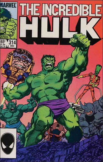 Incredible Hulk (1968) 314-A by Marvel