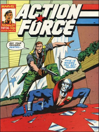 Action Force (UK) 36-A by Marvel UK