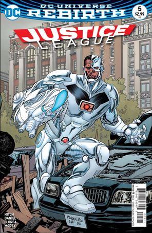 Justice League (2016) 5-B