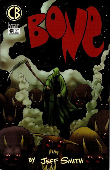 Bone (1991) 48-A by Cartoon Books