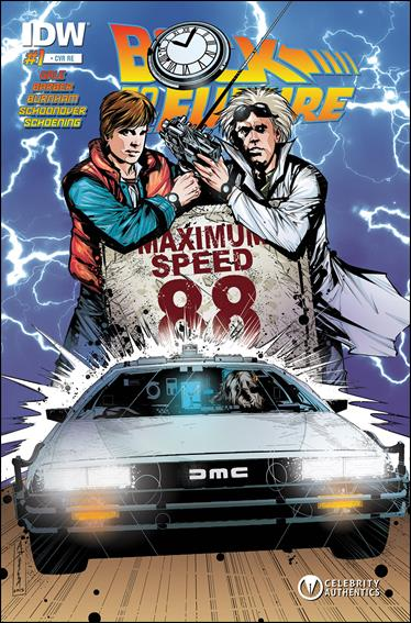Back To The Future 1 Nb Oct 2015 Comic Book By Idw