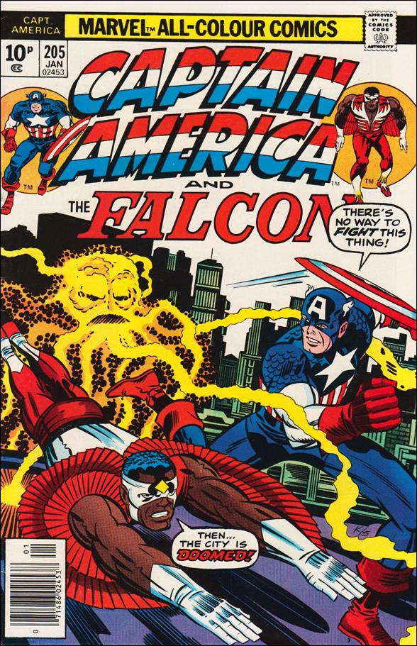 Captain America (1968) 205-B by Marvel