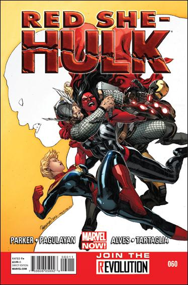 Red She-Hulk 60-A by Marvel