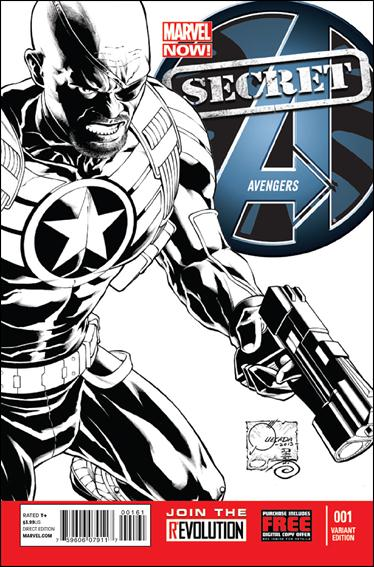 Secret Avengers (2013) 1-D by Marvel