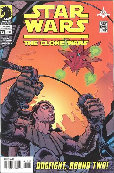 Star Wars: The Clone Wars 12-A by Dark Horse