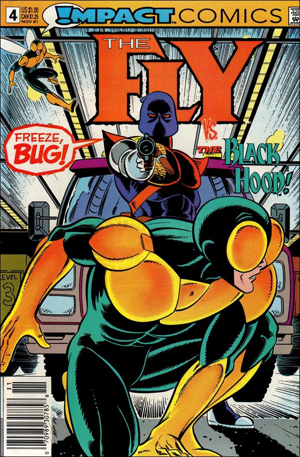 Fly (1991) 4-A by Impact Comics