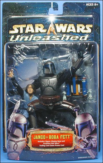 Star Wars: Unleashed Boba and Jango Fett by Hasbro