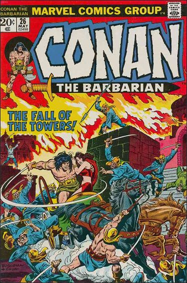 Conan the Barbarian (1970) 26-A by Marvel