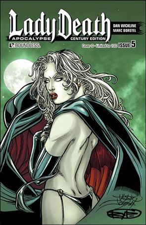Lady Death: Apocalypse 5-HF