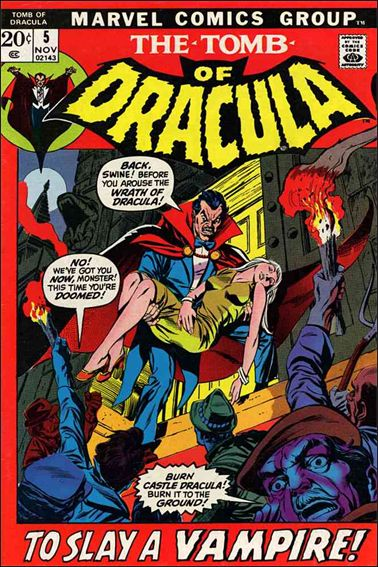 Tomb of Dracula (1972) 5-A by Marvel