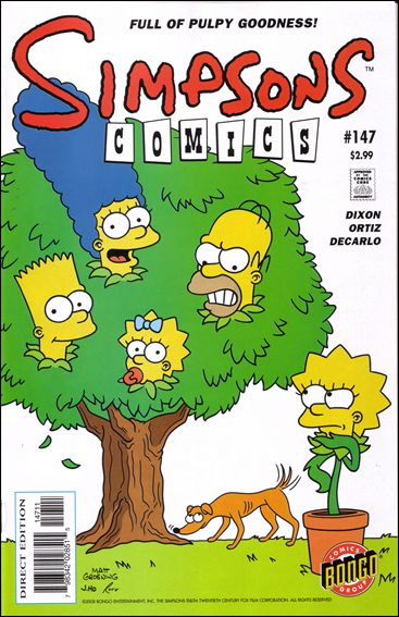Simpsons Comics 147-A by Bongo