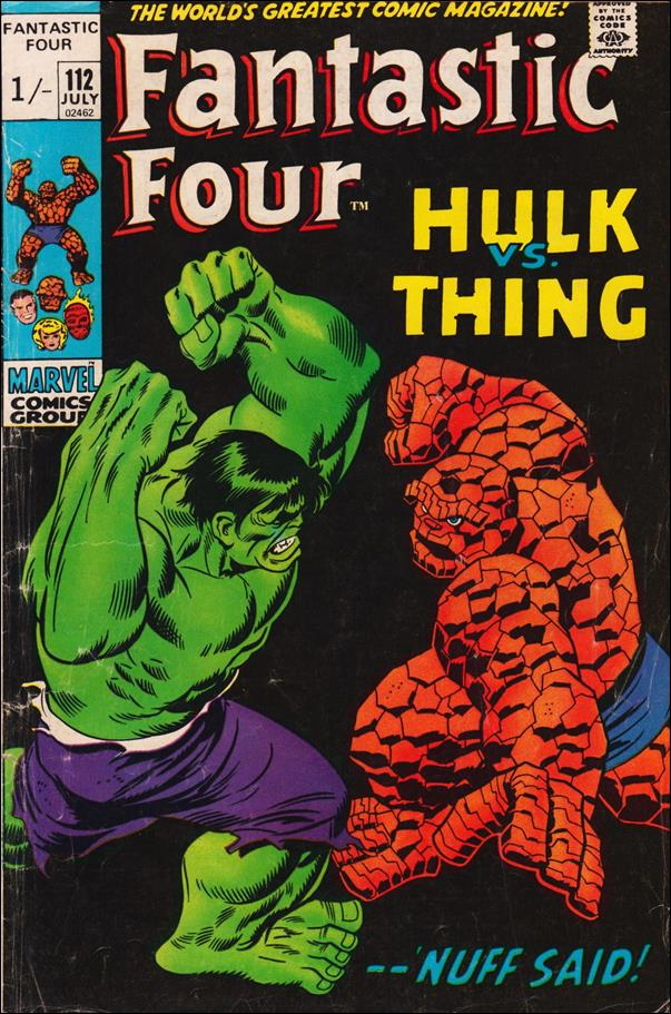 Fantastic Four (1961) 112-B by Marvel