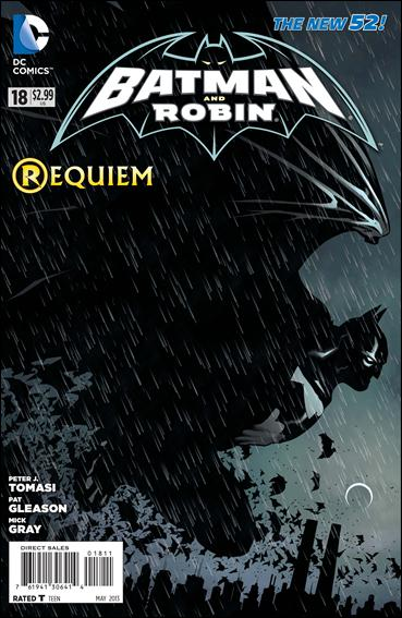 Batman and Robin (2011) 18-A by DC