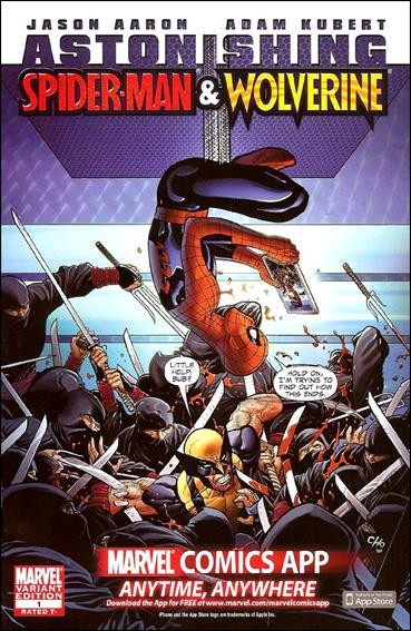 Astonishing Spider-Man & Wolverine 1-D by Marvel