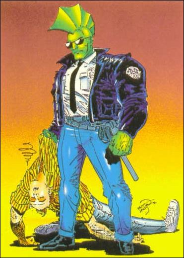 Savage Dragon (Base Set) 7-A by Comic Images