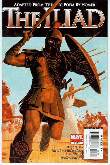 Marvel Illustrated: The Iliad 2-A by Marvel